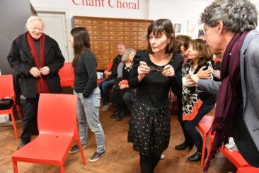 RITOURNELLES #17 - Rencontre-lecture avec Frédéric Boyer Photo : Frédéric Desmesure
