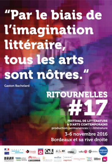 Ritournelles#17 - Littérature et arts contemporains à Bordeaux