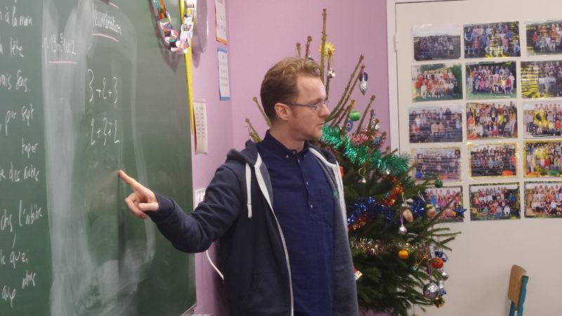 David Christoffel mélange poésie et mathématique avec le Poème karaoké