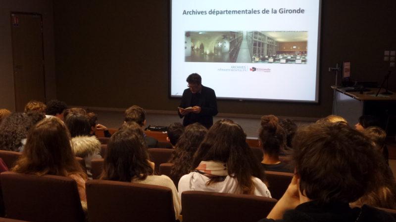Archives Départementales de Gironde - Michaël Batalla