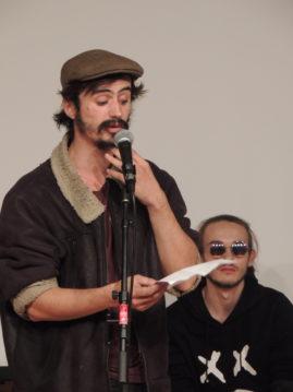 Les étudiants de l'ESAPB s'emparent de Radio Ritournelles.  Restitution du workshop mené avec leur enseignant, le poète Didier Arnaudet.