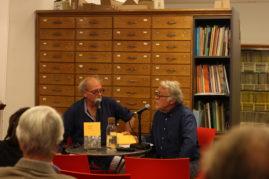 """Rencontre avec Michel Jullien autour de sa dernière publication """"L'Ile aux troncs"""", publiée aux Éditions Verdier. Animée par Christian Jacquot."""