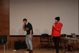Les étudiants de l'ESAPB s'emparent de Radio Ritournelles.  Deux jeunes rappeurs bordelais, Ulysse Vergnaud et Vincent Chamouleau font leur première scène pour Ritournelles. Ils présentent un son créé spécialement pour le festival.