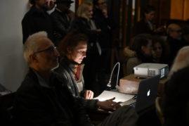 Soirée lecture performance pour les 20 ans du festival Ritournelles, performance de Michèle Métail