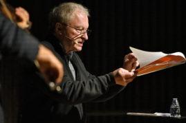 Les 20 ans de Ritournelles, lecture musicale de Valère Novarina et Mathias Lévy