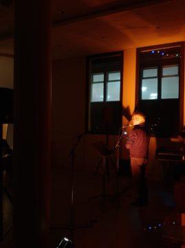 Les 20 ans de Ritournelles, soirée de Lectures performées au Liburnia avec Patrick Bouvet