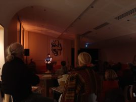 Les 20 ans de Ritournelles, soirée de Lectures performées au Liburnia avec Edith Azam