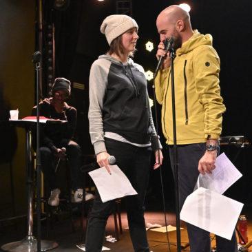 Les 20 ans de Ritournelles, Création Rhythm & Poetry avec Lexie T, Maras et Fleyo