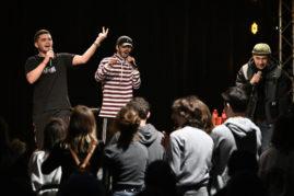 Les 20 ansLes 20 ans de Ritournelles, soirée rap de Ritournelles, Création Rhythm & Poetry