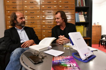 Rencontre littéraire avec Frédéric Boyer