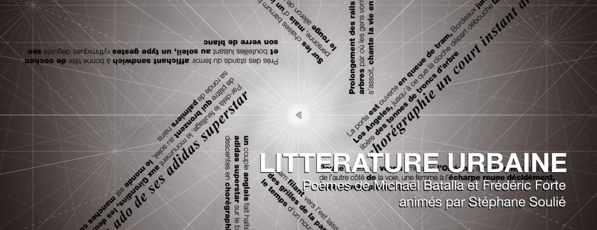 Bordeaux création pour l'espace public littérature urbaine