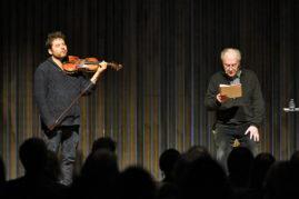 Les 20 ans de Ritournelles, lecture musicale de Valère Novarina et Mathias Lévy Bordeaux